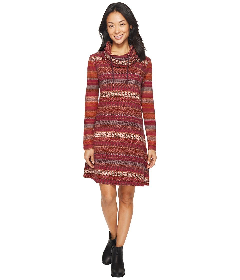 Woolrich Mile Run Dress (Wine Multi) Women