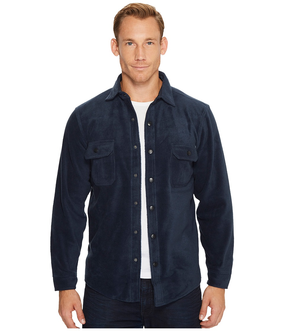 Woolrich Andes Fleece Shirt Jacket (Deep Indigo) Men