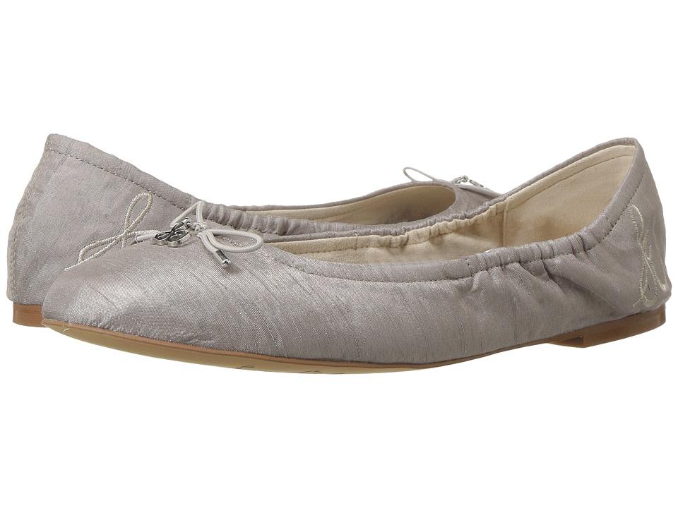 Sam Edelman Felicia (Grey Silk Dupioni Fabric) Women