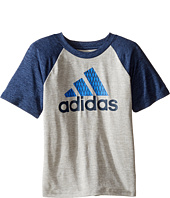 adidas Kids - Performance Raglan (Toddler/Little Kids)