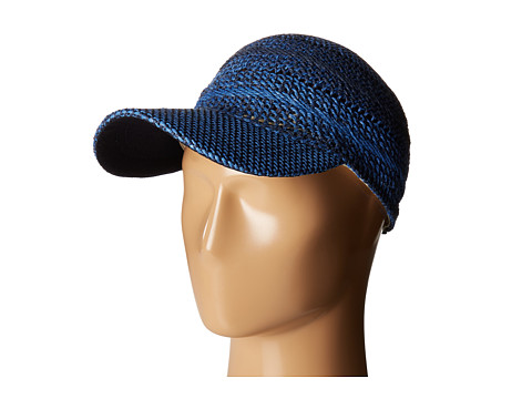 Echo Design Hand Woven Baseball Cap - Navy