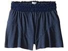 Splendid Littles - Indigo Lace Waistband Shorts (Big Kids)
