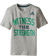 adidas Kids - Witness The Strength Tee (Toddler/Little Kids)