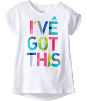 adidas Kids - Practice Tee (Toddler/Little Kids)