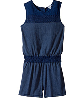 Splendid Littles - Indigo Romper with Lace (Big Kids)