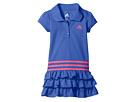 Ruffle Polo Dress (Toddler/Little Kids)