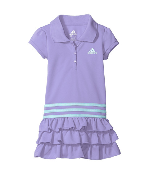 adidas Kids Ruffle Polo Dress (Toddler/Little Kids)