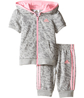 adidas Kids - Cheetah Capris Jogger Set (Infant)