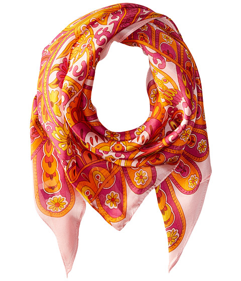 Echo Design Baracoa Silk Triangle Scarf - Flamingo