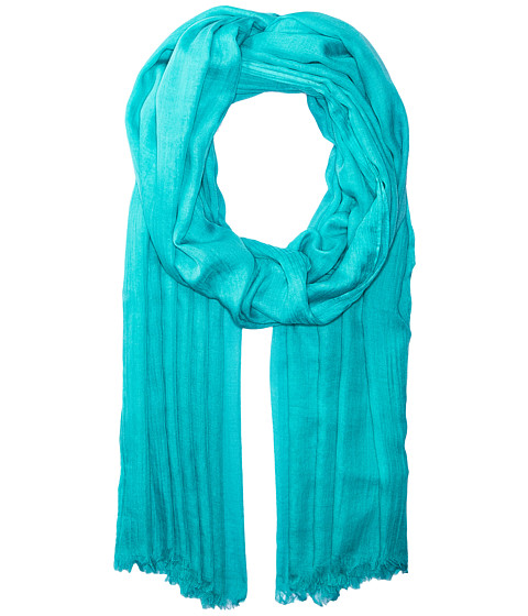 Echo Design Solid Crinkle Wrap Scarf - Caribbean Sea