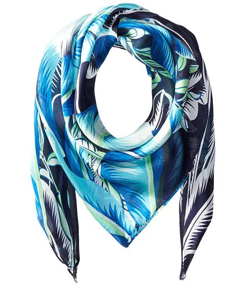 Echo Design Palm Silk Triangle Scarf - Navy