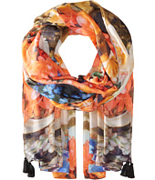 Echo Design - Tropical Floral Wrap Scarf