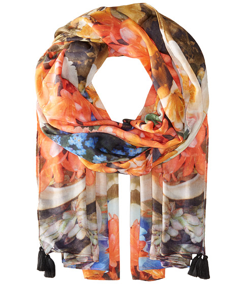 Echo Design Tropical Floral Wrap Scarf - Multi