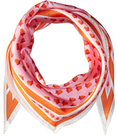 Echo Design - Strawberry Silk Diamond Scarf