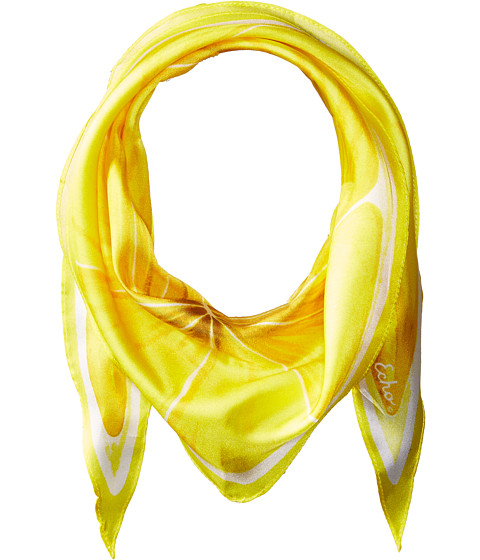 Echo Design Slice O'Fruit Silk Diamond Scarf