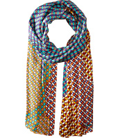 Echo Design - Villa Tile Silk Oblong Scarf
