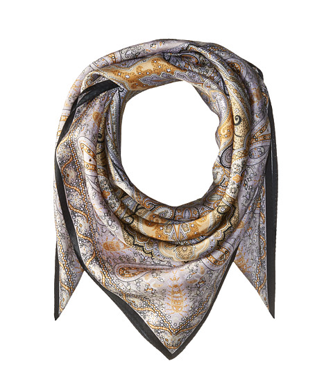 Echo Design Paisley Silk Square Scarf - Black