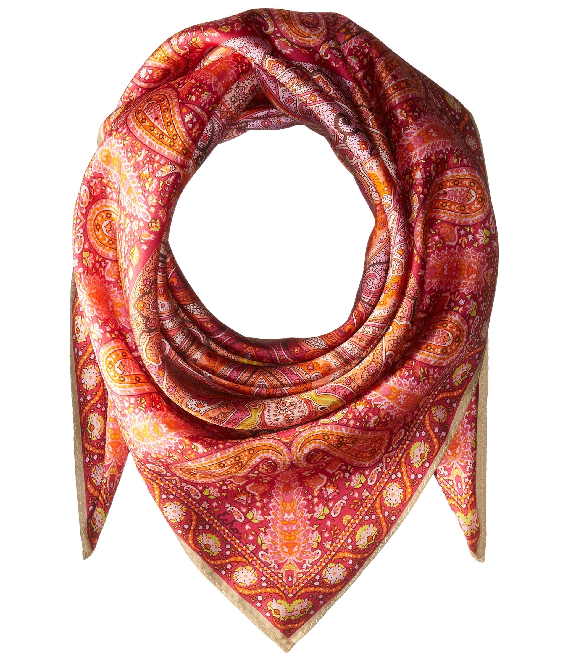 echo design paisley silk square scarf linen zappos