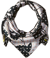 Echo Design - Dots on Dots Silk Square Scarf