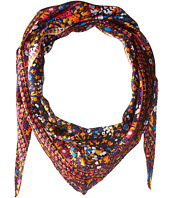 Echo Design - Ditzy Patchwork Silk Diamond Scarf