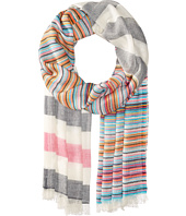 Echo Design - Multi Stripe Wrap Scarf