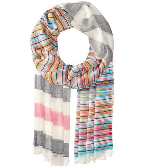 echo design multi stripe wrap scarf at zappos