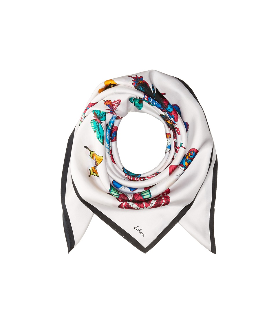 Echo Design - Butterfly Silk Square Scarf
