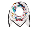 Echo Design Butterfly Silk Square Scarf