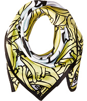 Echo Design - Plantains Bandana Silk Square Scarf