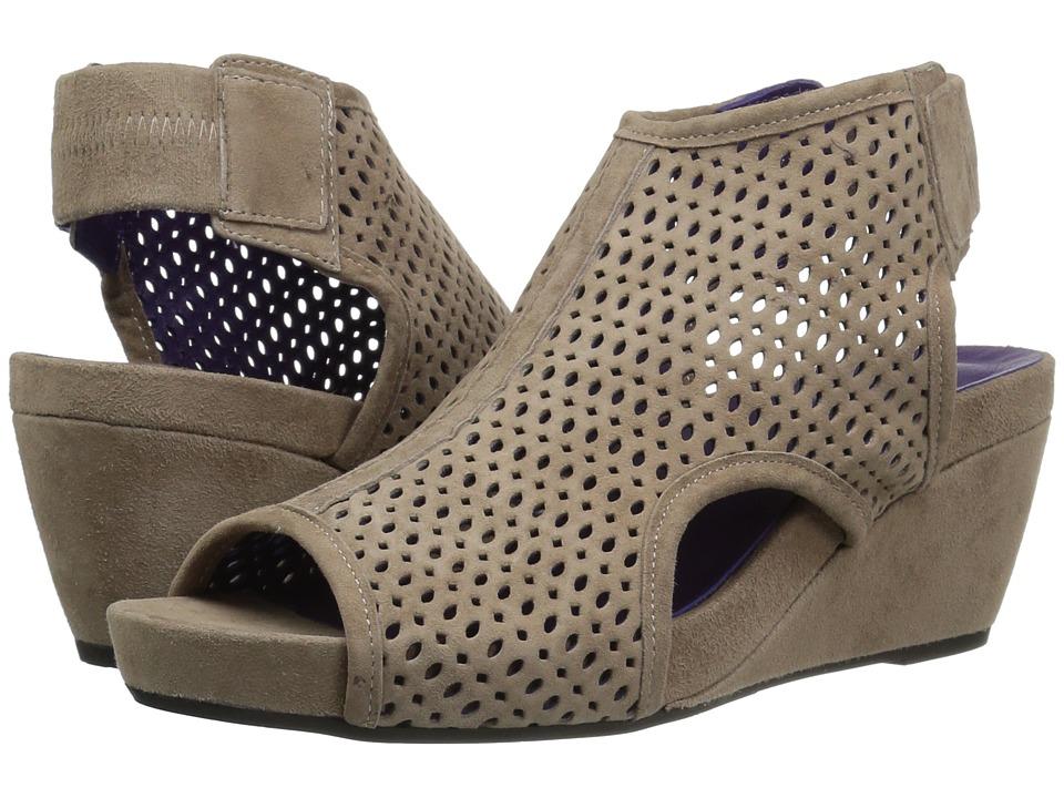 Vaneli Inez (Truffle Suede) Women's Wedge Shoes