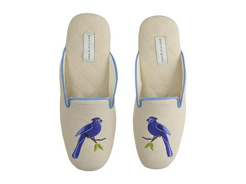 Patricia Green Bluebird - Linen Blue