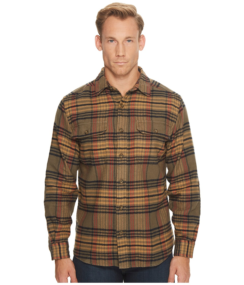 Woolrich Oxbow Bend Flannel Shirt (Bungee Cord) Men's Clo...