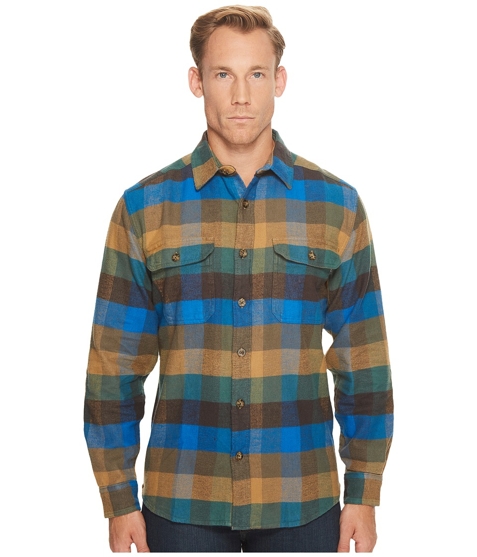 Woolrich Oxbow Bend Flannel Shirt (Multi Check) Men's Clo...