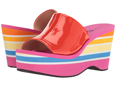 Katy Perry The Casey - Red/Orange Smooth Patent