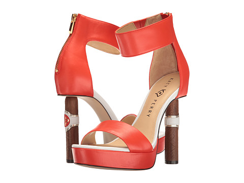 Katy Perry The Jackie - Red/Orange Nappa