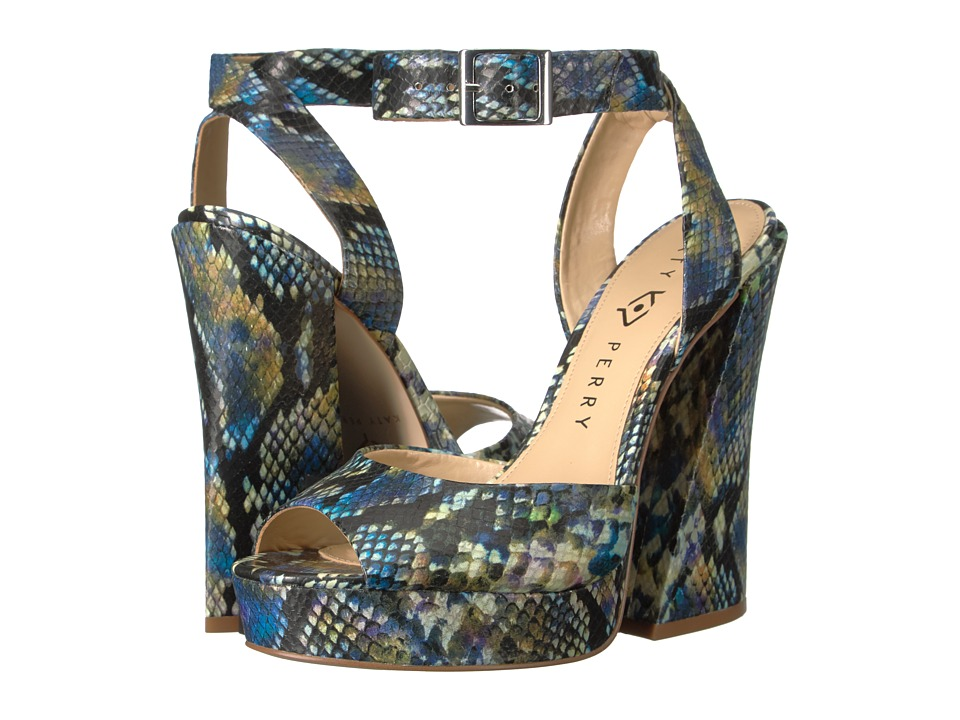 Katy Perry The Maggie (Purple Multi Rainbow Snake Print) Women