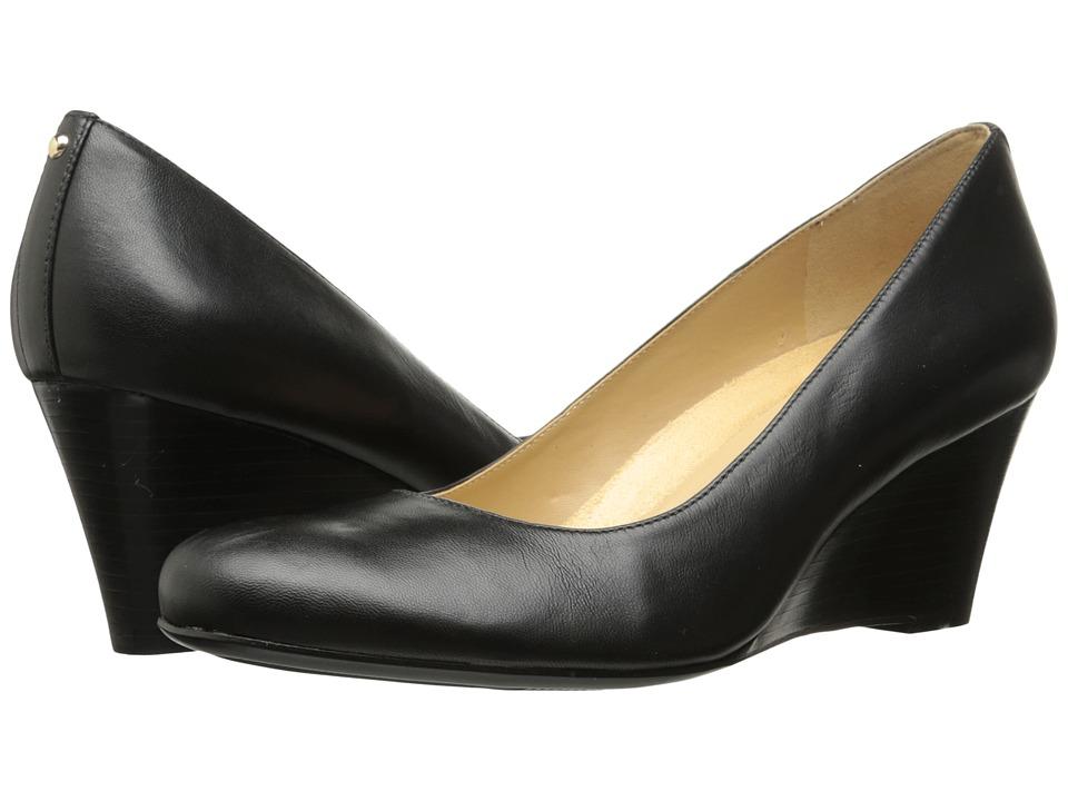 1940s Style Shoes, 40s Shoes Naturalizer Emily Black Leather High Heels $110.00 AT vintagedancer.com