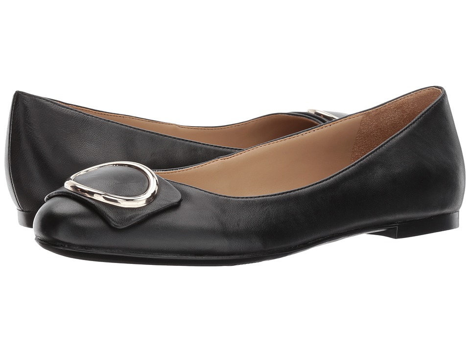 Naturalizer Geonna (Black Leather) Women's Shoes