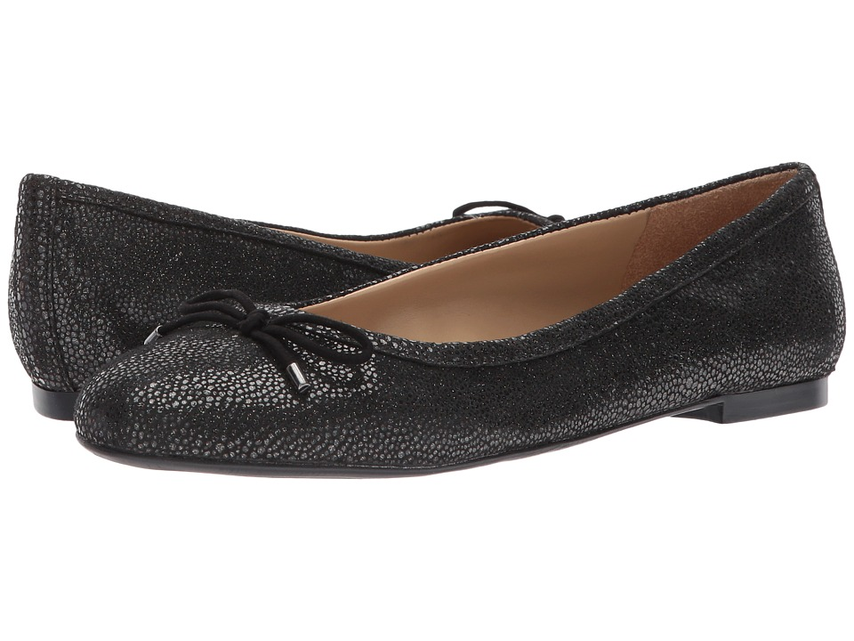 Naturalizer Grace (Black Iridescent Pebbled Leather) Women