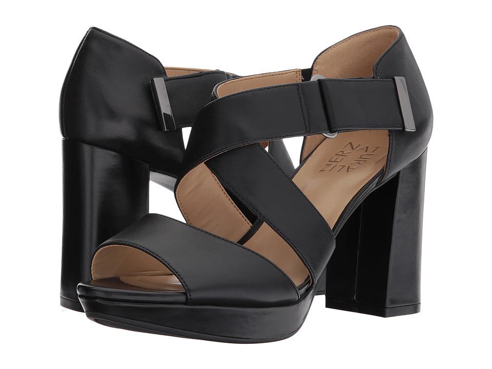 Naturalizer Harper (Black Leather) Women