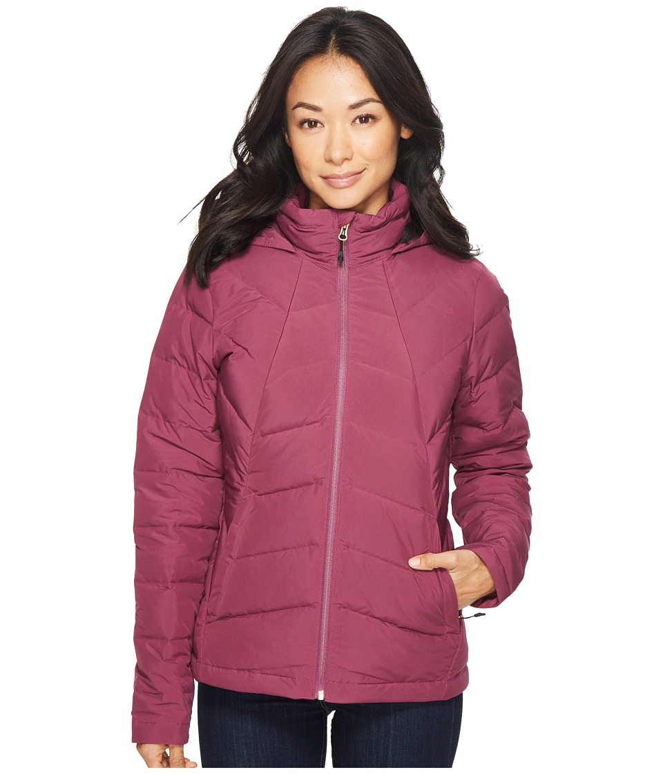 Spyder Syrround Hoodie Down Jacket (Amaranth) Women