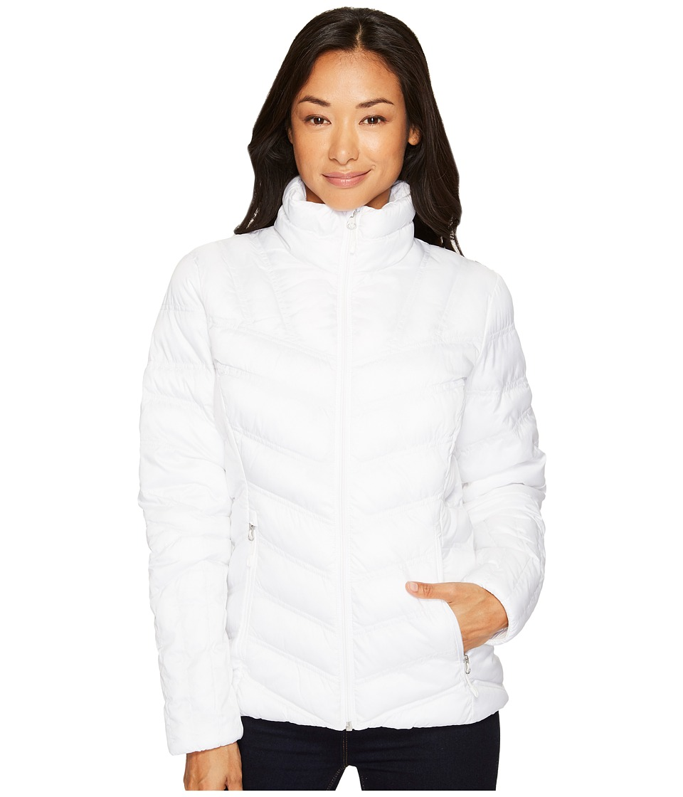 Spyder Geared Synthetic Down Jacket (White) Women