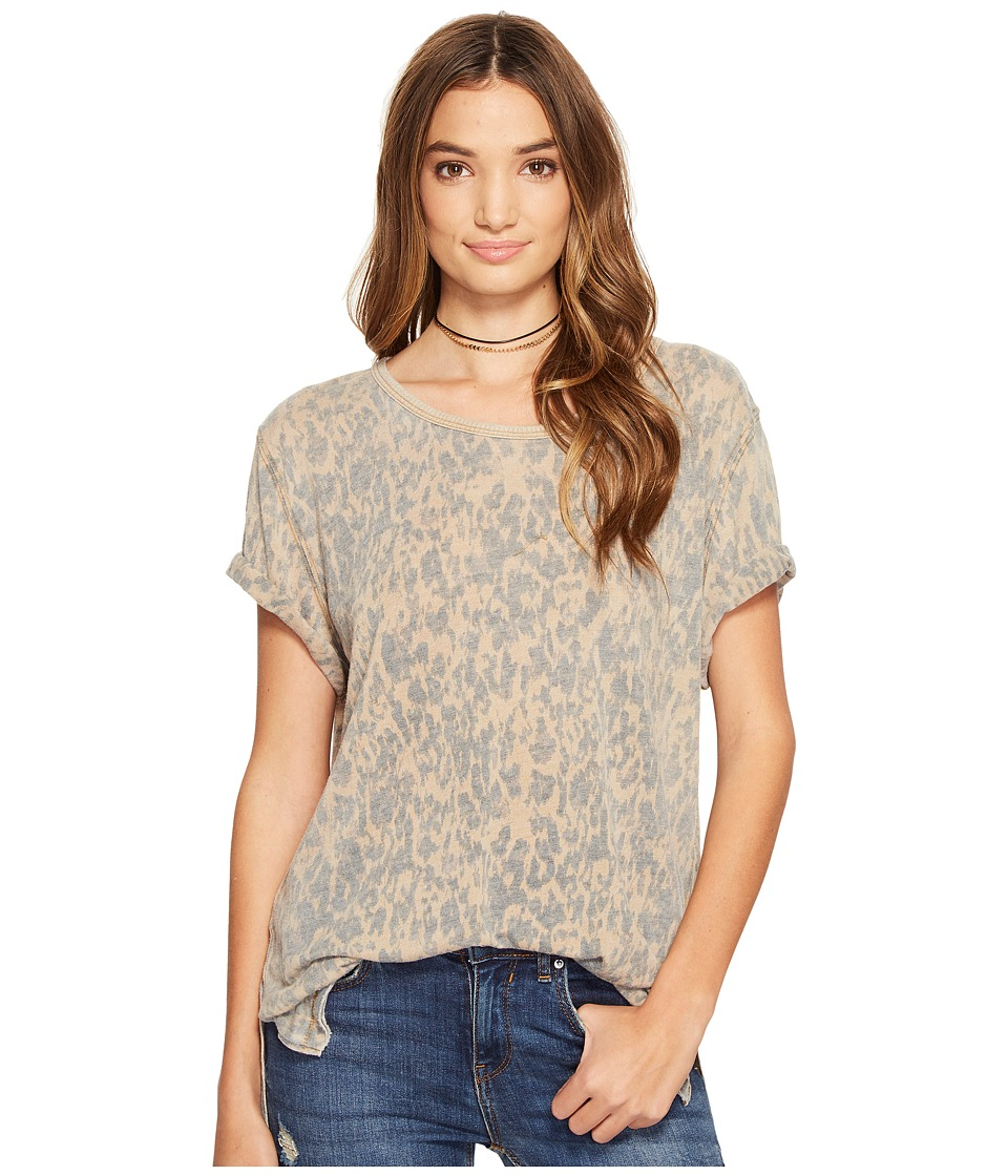 Free People Army Tee (Brown) Women