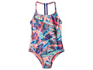 Retro Summer Sporty One-Piece (Big Kids)