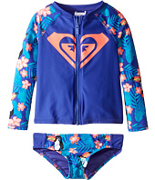 Roxy Kids - Little Tropics Long Sleeve Lycra Set (Toddler/Little Kids)