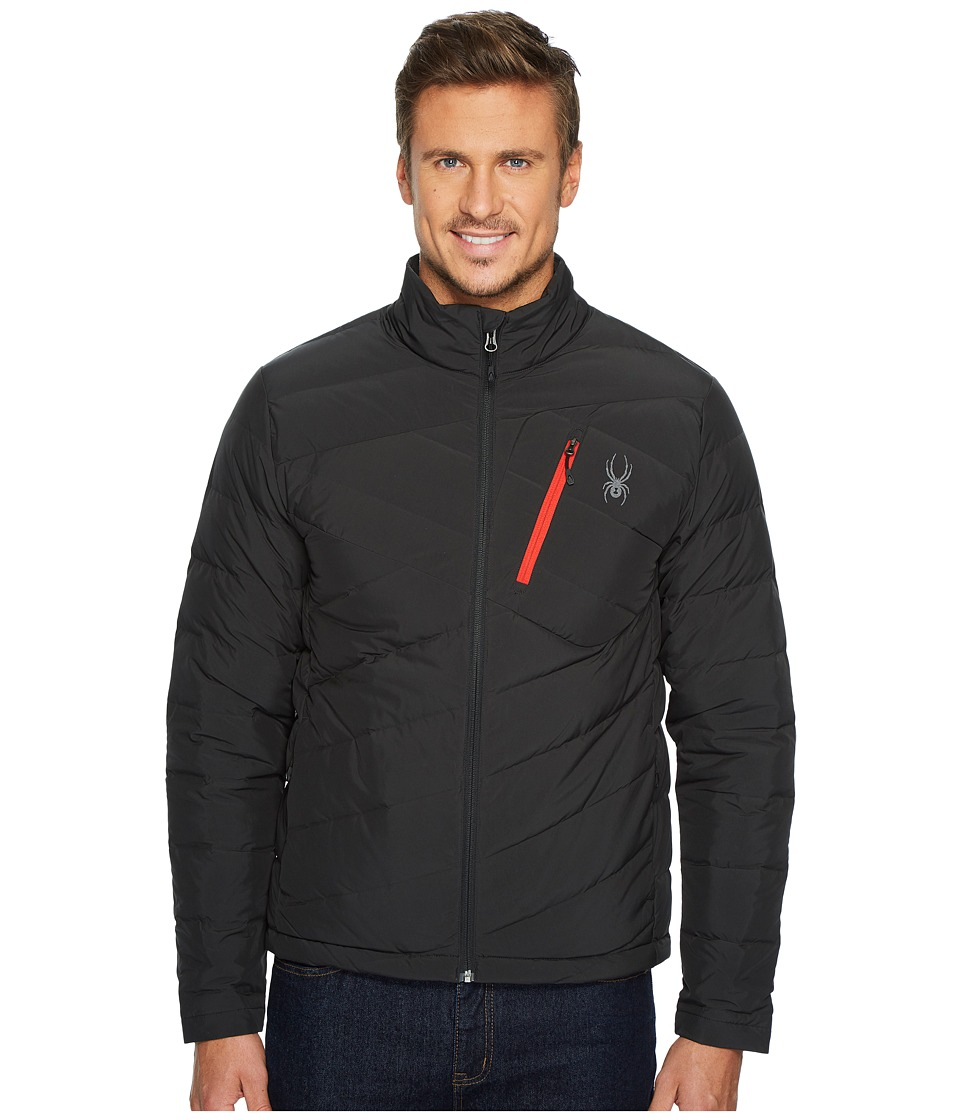 Spyder Syrround Full Zip Down Jacket (Black) Men