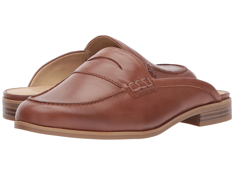 Retro Vintage Flats and Low Heel Shoes Naturalizer - Villa Saddle Tan Worn Leather Womens  Shoes $70.99 AT vintagedancer.com