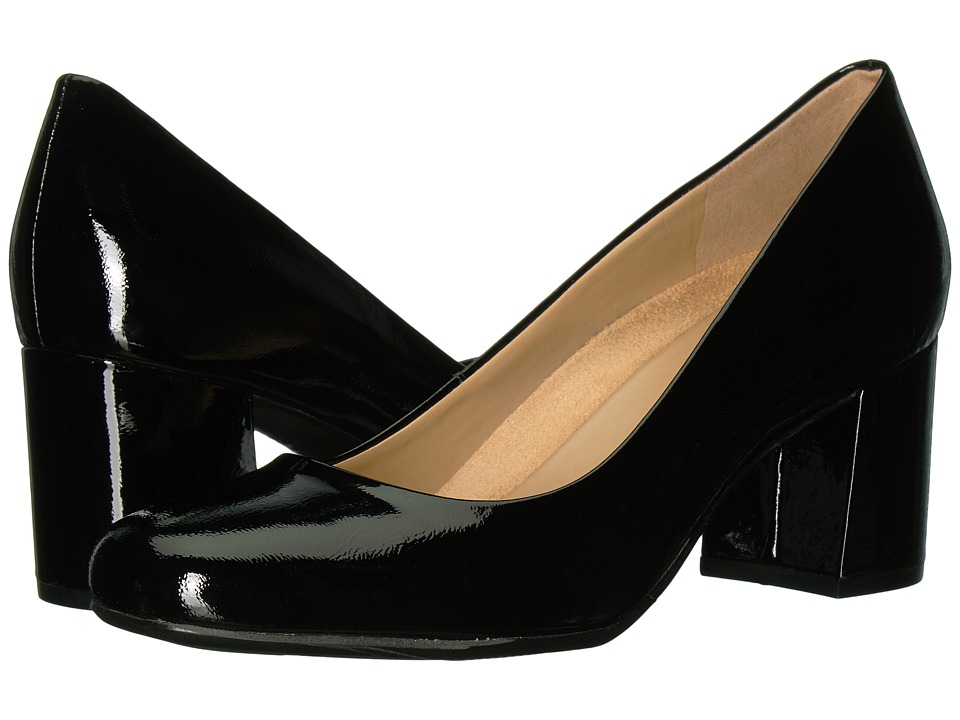 Naturalizer Whitney (Black Patent Leather) High Heels