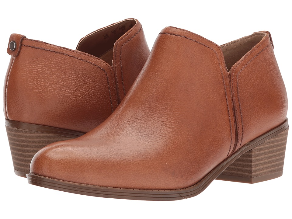 Naturalizer Zarie (Saddle Tan Tumbled Leather)