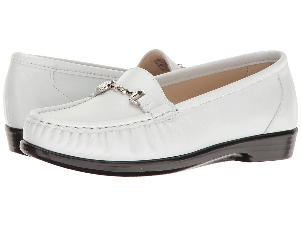 SAS Metro (Pearl White) Women's Shoes